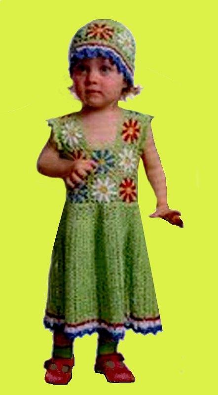 Вязание крючком сарафаны для девочек 1