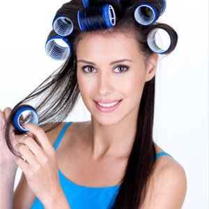 Как завить волосы красиво - бигуди