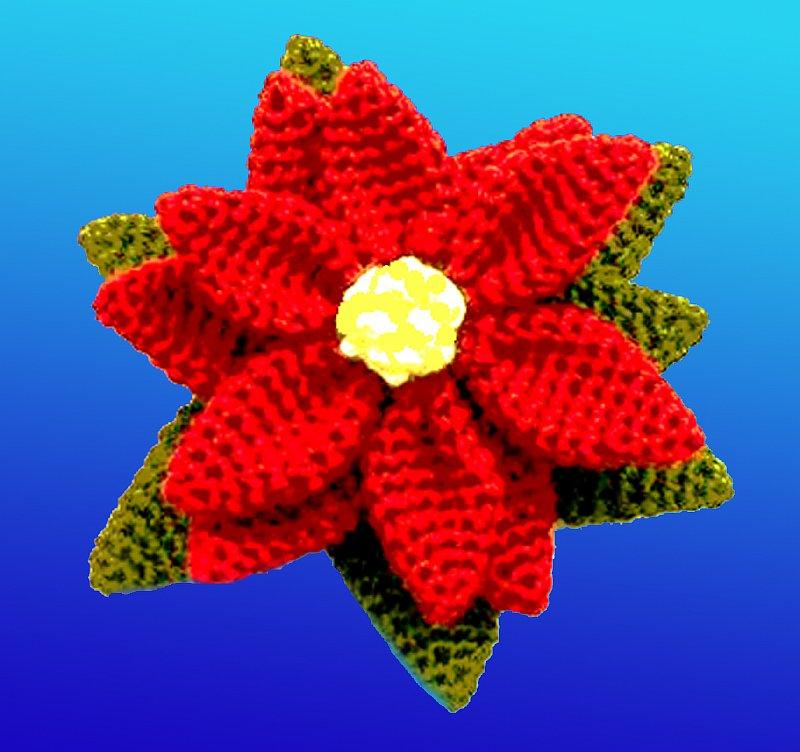 Вяжем крючком красивые цветы