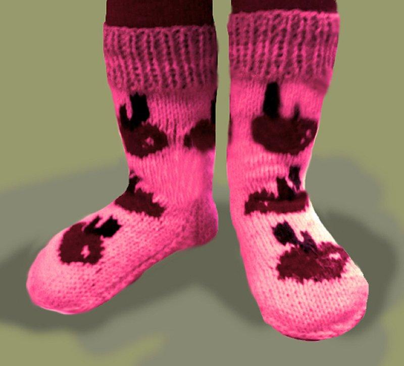 Вязание носков на двух спицах скачать