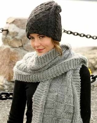 Вязание спицами шарфа на зиму советы все для вас дамы