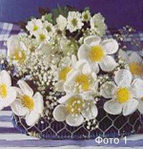Вяжем крючком красивые цветы по схемам -фото 1