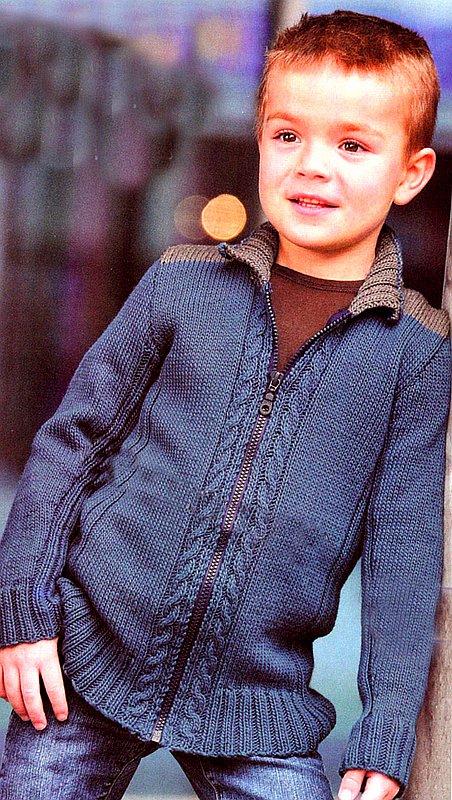 год первое вязаный пиджак для мальчика 6 лет своими руками определенных групп взрослого