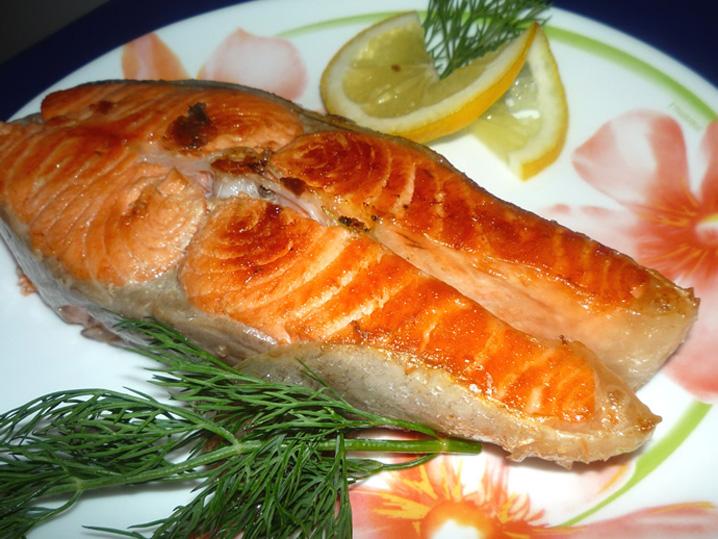 красная рыба жареная рецепт